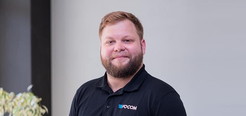 Unser neuer Mitarbeiter Kevin Müller